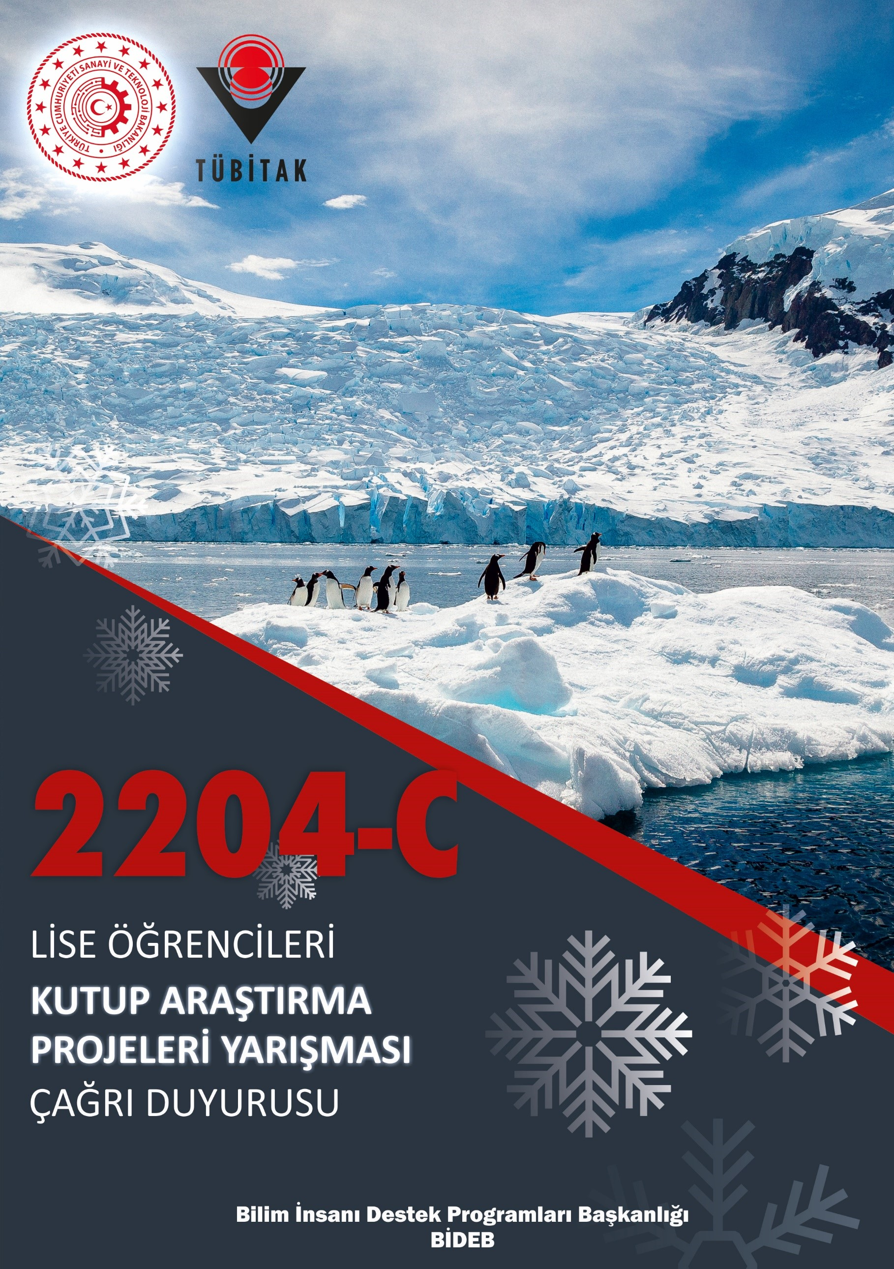 2204-C Lise Öğrencileri Kutup Araştırma Projeleri Yarışması Çağrı Duyurusu