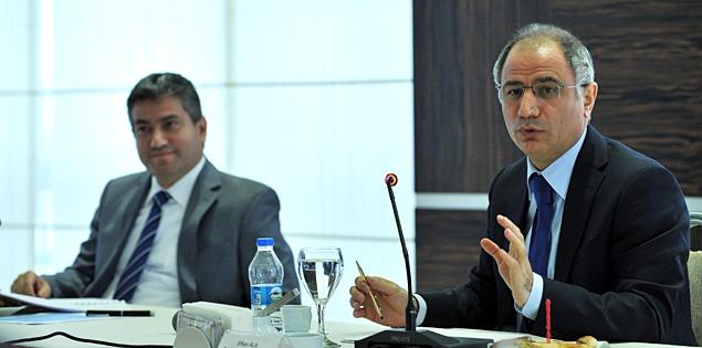Başbakanlık Müsteşarı Efkan Ala, TÜBİTAK Başkanı Yücel Altunbaşak