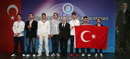 Balkan Matematik Olimpiyatı'nın Şampiyonu Türkiye